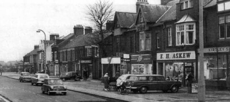 Forest Hall shops - 1970s