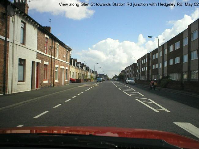 Glen Street, Hebburn - May 2002