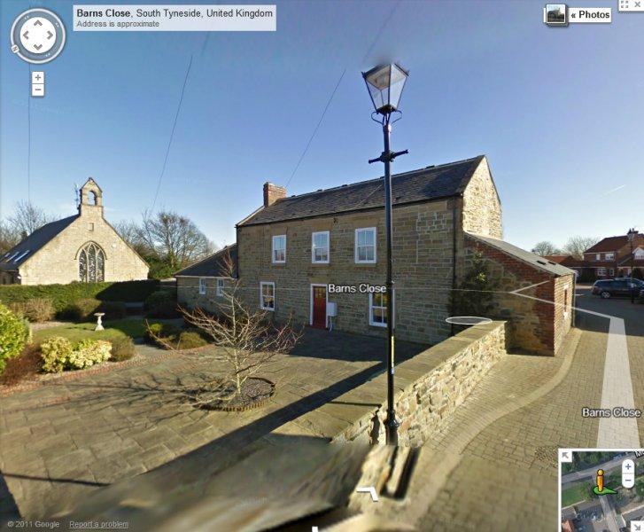 Lawson's old farm house